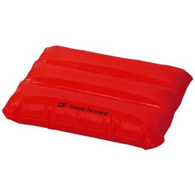 Picture of WAVE INFLATABLE PILLOW in Red