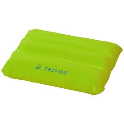 Picture of WAVE INFLATABLE PILLOW in Lime