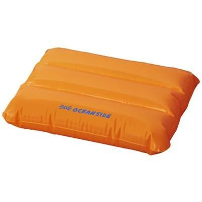 Picture of WAVE INFLATABLE PILLOW in Orange
