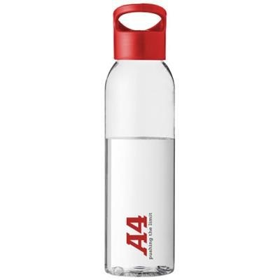 Picture of SKY 650 ML TRITAN COLOUR-POP SPORTS BOTTLE in Red-transparent