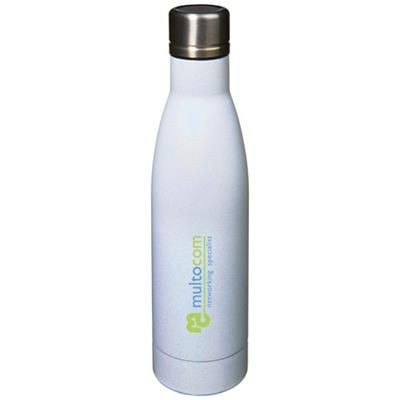 Picture of VASA AURORA 500 ML COPPER VACUUM THERMAL INSULATED BOTTLE in White Solid