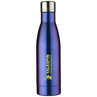 Picture of VASA AURORA 500 ML COPPER VACUUM THERMAL INSULATED BOTTLE in Blue