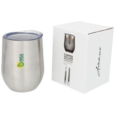 Picture of CORZO 350 ML COPPER VACUUM THERMAL INSULATED CUP in Silver