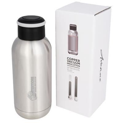 Picture of COPA 350 ML MINI COPPER VACUUM THERMAL INSULATED BOTTLE in Silver