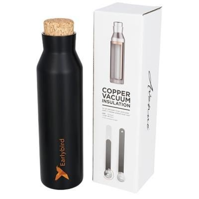 Picture of NORSE 590 ML COPPER VACUUM THERMAL INSULATED BOTTLE in Black Solid
