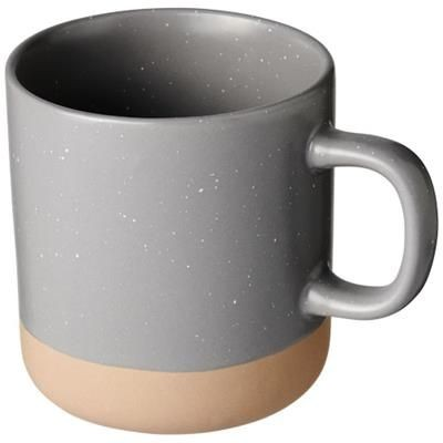 Picture of PASCAL 360 ML CERAMIC POTTERY MUG in Grey
