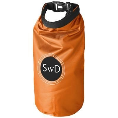 Picture of TOURIST 2 LITRE WATERPROOF BAG with Phone Pouch in Orange