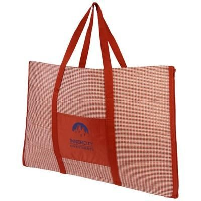 Picture of BONBINI FOLDING BEACH TOTE AND MAT in Red
