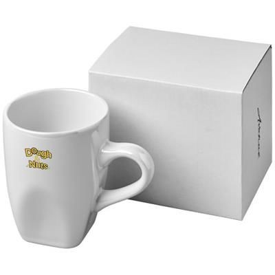 Picture of COSMIC 360 ML CERAMIC POTTERY MUG in White Solid