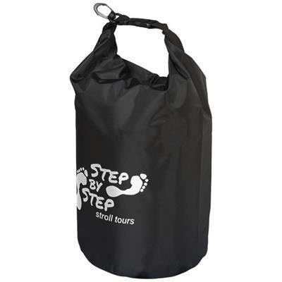 Picture of CAMPER 10 LITRE WATERPROOF BAG in Black Solid