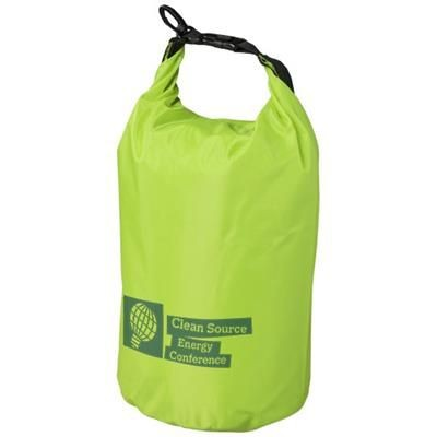 Picture of CAMPER 10 LITRE WATERPROOF BAG in Lime