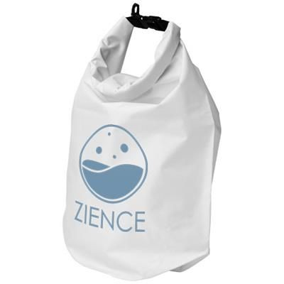 Picture of CAMPER 10 LITRE WATERPROOF BAG in White Solid