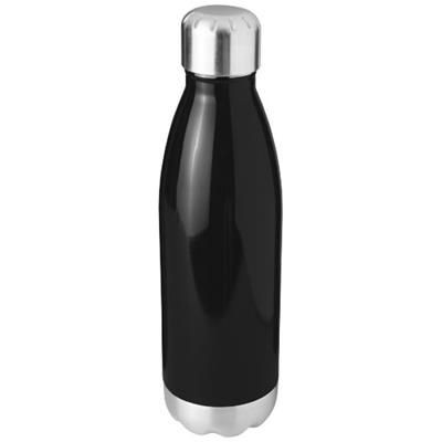 Picture of ARSENAL 510 ML VACUUM THERMAL INSULATED BOTTLE in Black Solid