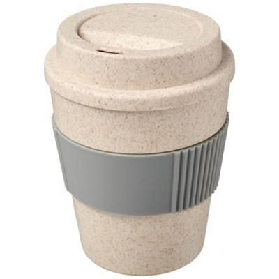 Picture of OKA 350 ML WHEAT STRAW TUMBLER in Grey