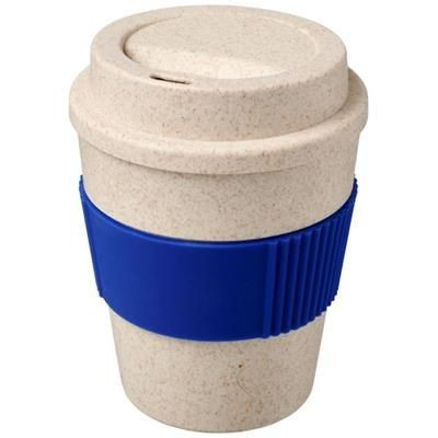 Picture of OKA 350 ML WHEAT STRAW TUMBLER in Blue
