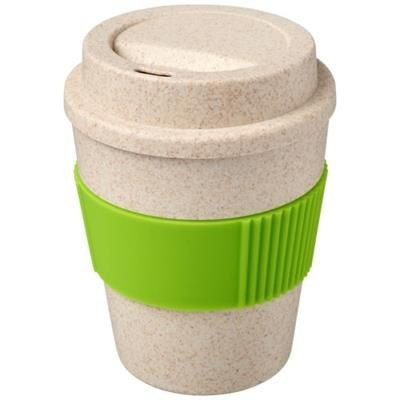 Picture of OKA 350 ML WHEAT STRAW TUMBLER in Lime