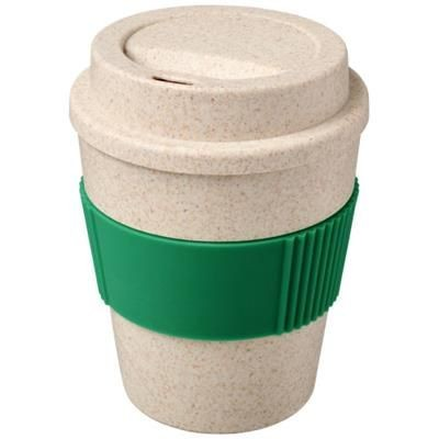 Picture of OKA 350 ML WHEAT STRAW TUMBLER in Green