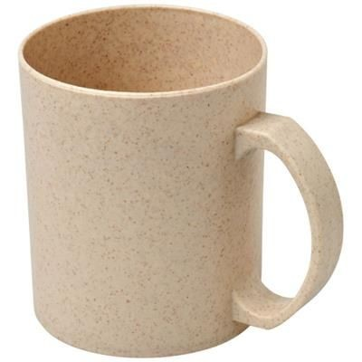 Picture of PECOS 350 ML WHEAT STRAW MUG in Beige