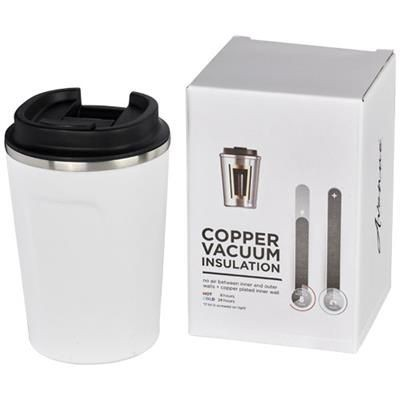Picture of THOR 360 ML LEAK-PROOF COPPER VACUUM TUMBLER in White Solid