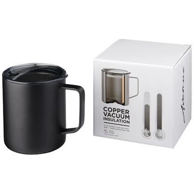 Picture of ROVER 420 ML COPPER VACUUM THERMAL INSULATED MUG in Black Solid