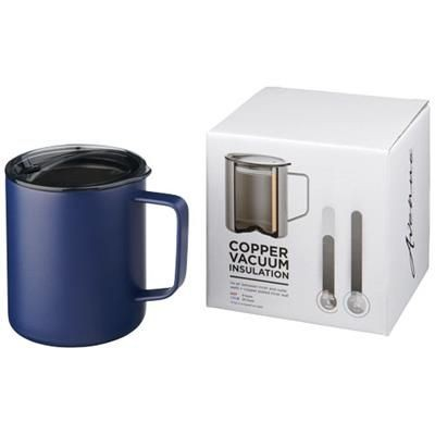 Oasis Stainless Steel Double Wall Eco Cup Coffee Tea Mug Reusable Thermal Black