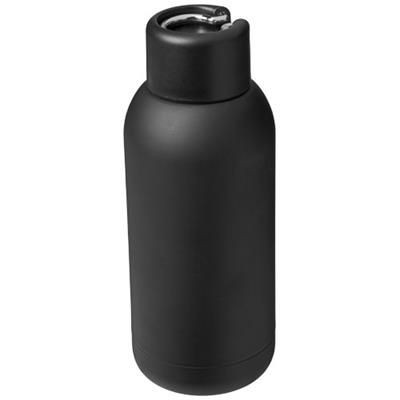 Picture of BREA 375 ML VACUUM THERMAL INSULATED SPORTS BOTTLE in Black Solid