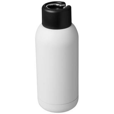 Picture of BREA 375 ML VACUUM THERMAL INSULATED SPORTS BOTTLE in White Solid