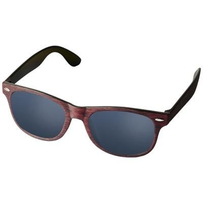 Picture of SUN RAY SUNGLASSES with Heathered Finish in Red