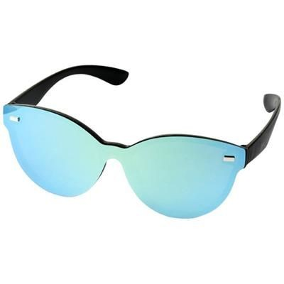 Picture of SHIELD SUNGLASSES with Full Mirrored Lens in Yellow
