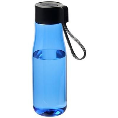 Picture of ARA 640 ML TRITAN SPORTS BOTTLE with Charger Cable in Blue
