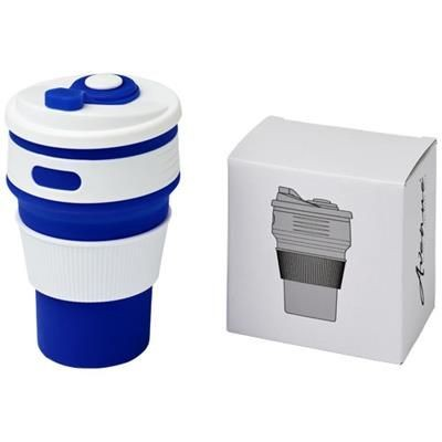 Picture of CORA 350 ML COLLAPSABLE TUMBLER in Blue
