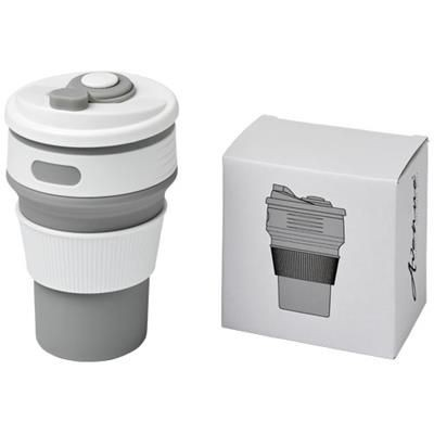 Picture of CORA 350 ML COLLAPSABLE TUMBLER in Grey