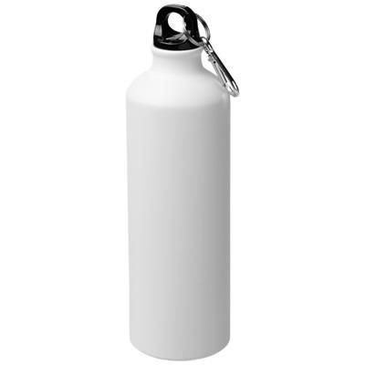 Picture of PACIFIC 770 ML MATTE SPORTS BOTTLE with Carabiner in White Solid