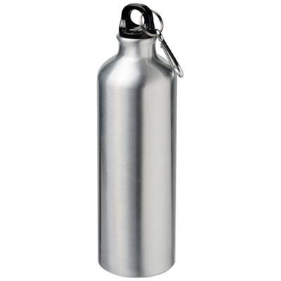Picture of PACIFIC 770 ML SUBLIMATION SPORTS BOTTLE with Carabiner in Silver