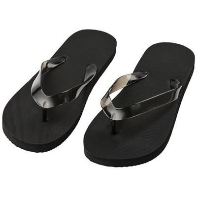 Picture of RAILAY BEACH SLIPPERS M in Black Solid