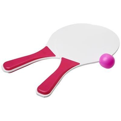 Picture of BOUNCE BEACH GAME SET in Light Pink