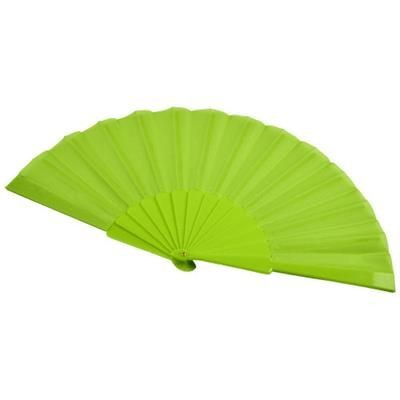 Picture of MAESTRAL FOLDING HANDFAN in Paper Box in Green