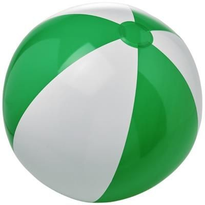 Picture of BORA SOLID BEACH BALL in Green-white Solid