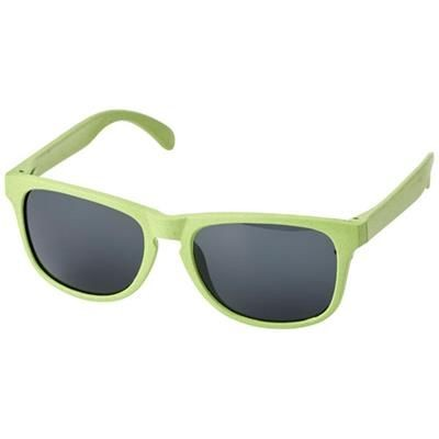 Picture of RONGO WHEAT STRAW SUNGLASSES in Green