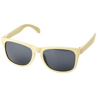 Picture of RONGO WHEAT STRAW SUNGLASSES in Yellow