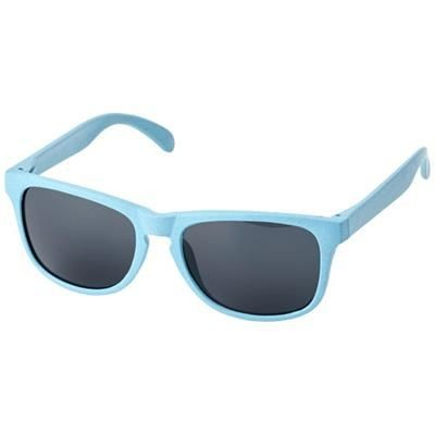 Picture of RONGO WHEAT STRAW SUNGLASSES in Light Blue