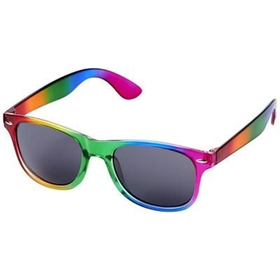 SUN RAY RAINBOW SUNGLASSES in Rainbow