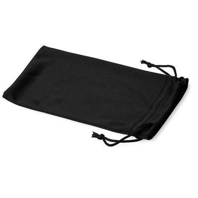Picture of CLEAN MICROFIBRE POUCH FOR SUNGLASSES in Black Solid