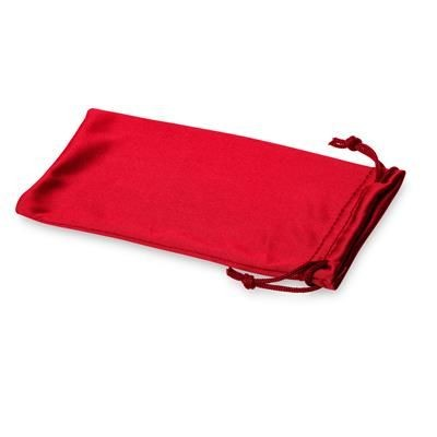 Picture of CLEAN MICROFIBRE POUCH FOR SUNGLASSES in Red
