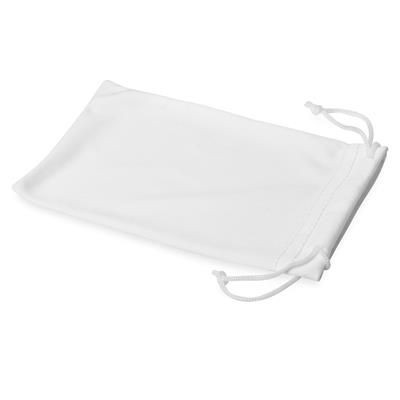 Picture of CLEAN MICROFIBRE POUCH FOR SUNGLASSES in White Solid