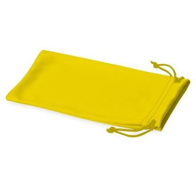 Picture of CLEAN MICROFIBRE POUCH FOR SUNGLASSES in Yellow