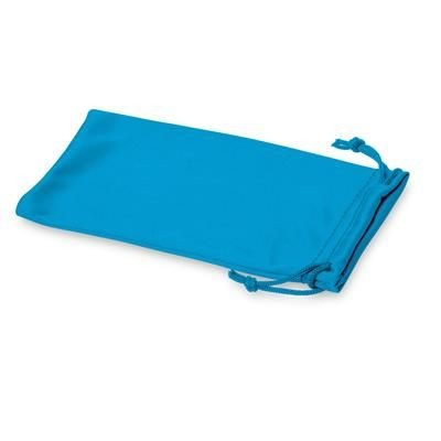 Picture of CLEAN MICROFIBRE POUCH FOR SUNGLASSES in Process Blue