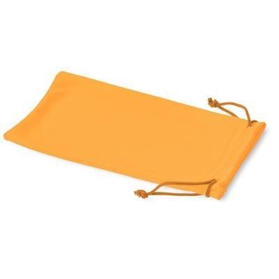 Picture of CLEAN MICROFIBRE POUCH FOR SUNGLASSES in Neon Fluorescent Orange