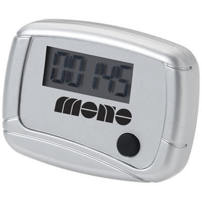 Picture of IN SHAPE PEDOMETER in Silver