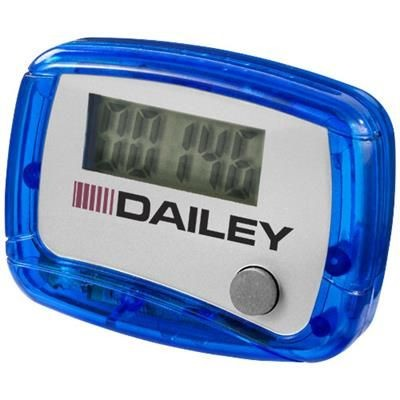 Picture of IN SHAPE PEDOMETER in Blue-white Solid